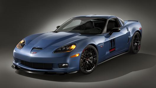 Особое исполнение Corvette Z06 поступит в продажу в следующем году