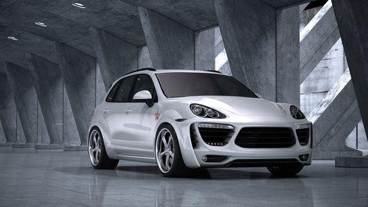 Российские тюнеры сделали Porsche Cayenne