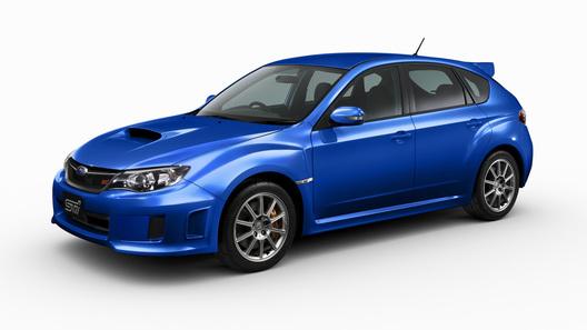 Subaru выпустит ограниченным тиражом две новых версии STI