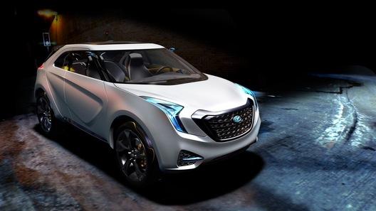 Hyundai показала в Детройте концептуальный кроссовер для города