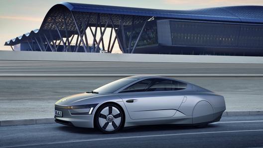 Volkswagen up! может получить двигатель от концепта XL1