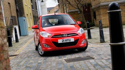 Компактный Hyundai i10 позволит англичанам заезжать в центр Лондона бесплатно