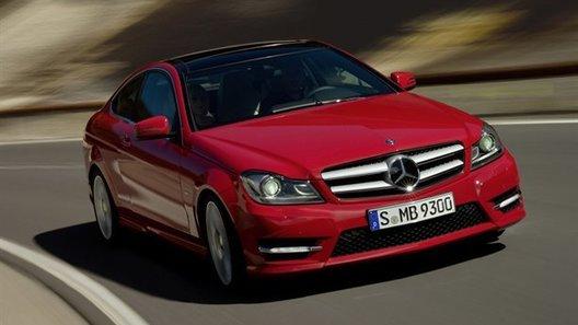 В Сети засветились первые фотографии Mercedes-Benz C-класса в кузове купе