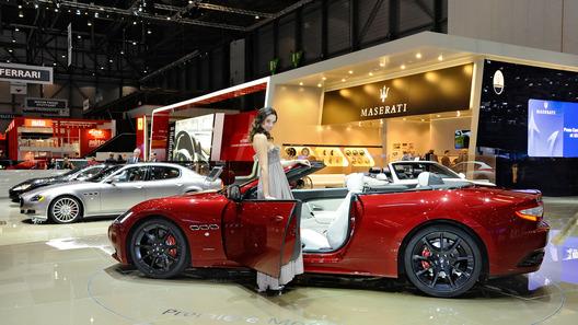Maserati привез в Женеву спорткар с гоночным мотором