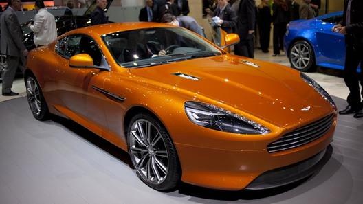Англичане похвастались новым купе Aston Martin Virage
