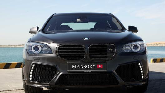 В Mansory потрудились над BMW 7 серии