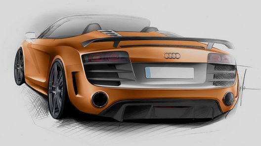 В Audi готовят открытую версию легкого спорткара R8 GT