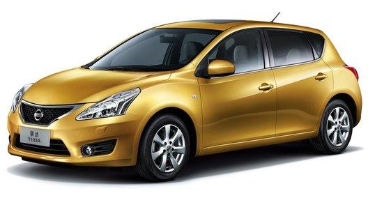 Обновленный хэтчбек Nissan Tiida показали в Шанхае
