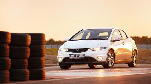 Honda Civic 5D R Series: часть 3 (2 853 км)