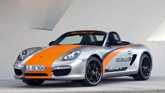 Porsche представил электрический вариант модели Boxster