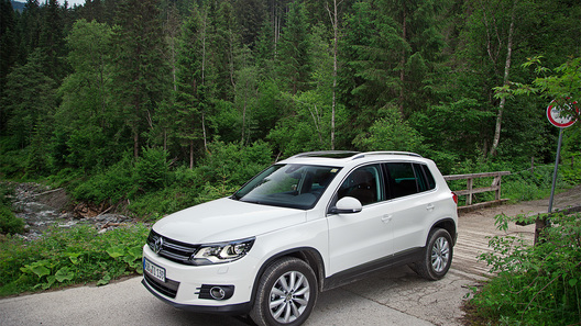 Тестируем будущий бестселлер - обновленный Volkswagen Tiguan