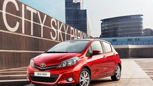 Toyota показала европейский Yaris