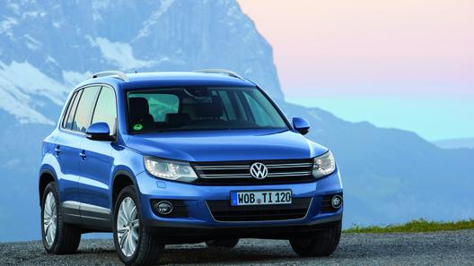 Volkswagen назвал российские цены на новый Tiguan
