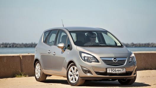 Opel Meriva: тест-драйв нового поколения в Калининграде