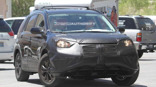 Готовый к производству Honda CR-V везут в Лос-Анджелес