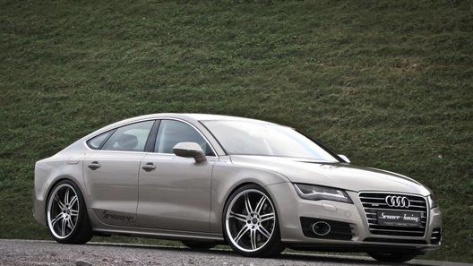 Ателье Senner Tuning ускорило хэтчбек Audi A7