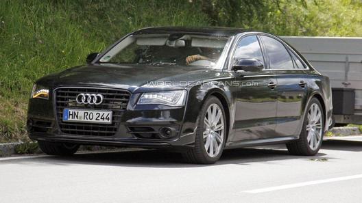 Audi S8 получит турбированный V8