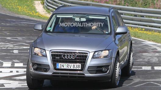 Шпионские фото Audi Q6 попали в интернет