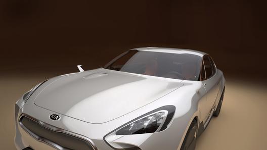 Kia анонсирует новый спортивный седан