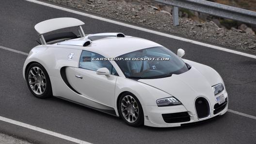 Bugatti тестирует