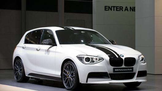 Комплект заводского тюнинга для BMW 1 Series покажут во Франкфурте