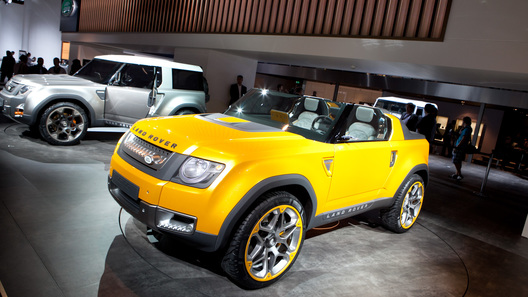 Land Rover показал во Франкфурте сразу два новых