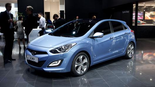 Hyundai i30 презентовали на Франкфуртском автошоу