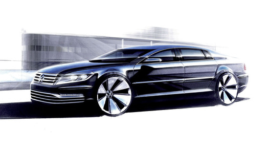 Volkswagen Phaeton обновится в 2015 году