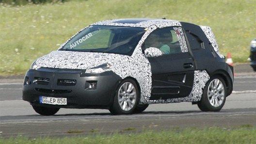 Opel Junior вышел на ходовые испытания