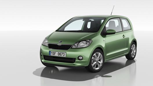 Skoda показала малолитражку на базе VW up!