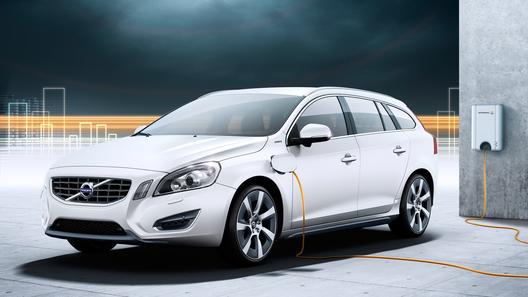 Гибридный Volvo V60 выйдет в 2012 году