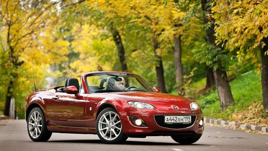 Mazda MX-5: часть 2 (2007 км)