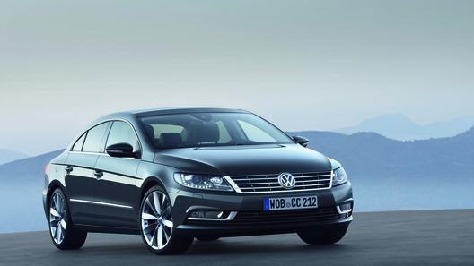 Volkswagen объявил российские цены на обновленный Passat CC