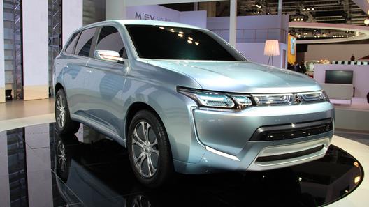 Вторым электрокаром Mitsubishi будет кроссовер