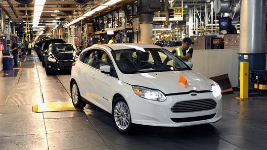 Начато производство электрокара на базе Ford Focus