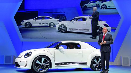 Volkswagen превратил Beetle в E-Bugster
