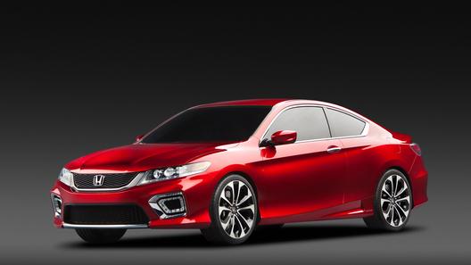 Honda показала концептуальный Accord в кузове купе