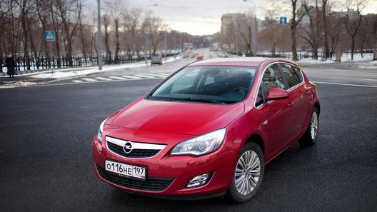 Opel Astra: часть 1 (1304 км)