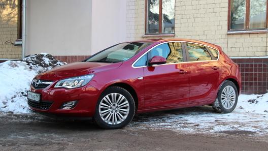 Opel Astra: часть 3 (3347 км)