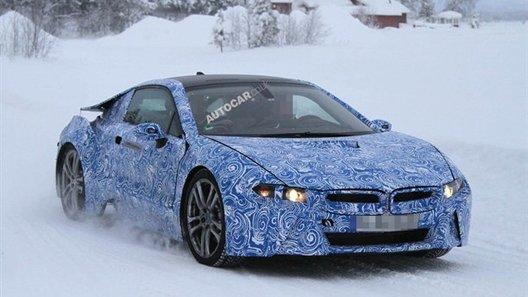 Прототип серийного BMW i8 попался фотошпионам