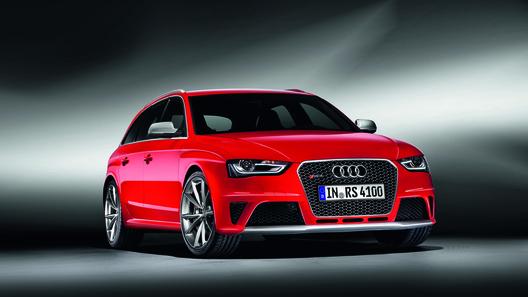 Новый Audi RS4 Avant получил мотор от Audi RS5