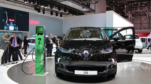 Электромобили Renault могут приехать в Россию в 2013 году
