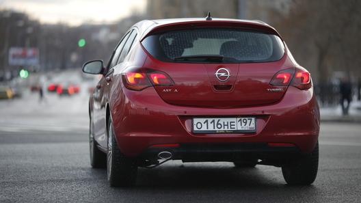 Opel Astra: часть 4 (4557 км)
