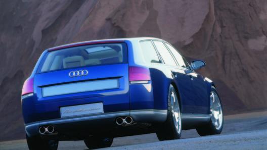Audi работает над созданием собственного варианта минивэна
