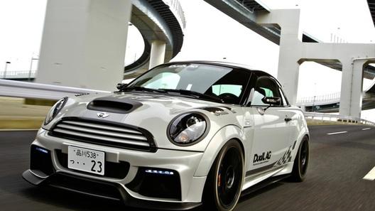 Mini Coupe JCW получил новый образ от ателье Duell AG