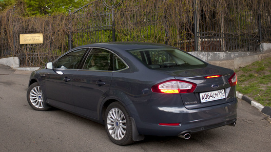 Ford Mondeo: часть 4 (4404 км)