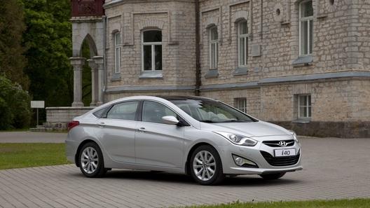 Седан Hyundai i40 обзавелся новым мотором