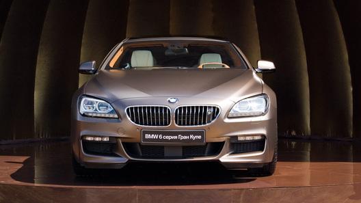 BMW провел российскую премьеру нового 6 Series Gran Coupe