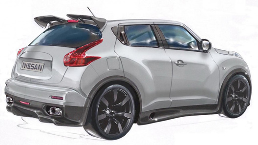 Серийный Nissan Juke-R засветился в Сети
