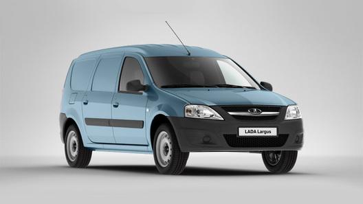 Lada Largus в кузове фургон будет стоить от 319 тысяч рублей